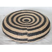 Buy cheap Paper pouf, round pouf, black &brown color design, made in China product