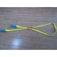 1 Inch Duplex Webbing Sling , Polyester Webbing Lifting Slings With Orange Label