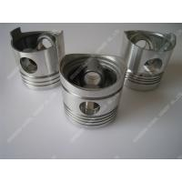 Buy cheap Piston Single Cylinder Diesel Engine Parts Aluminum Piston Black / Silver Color product