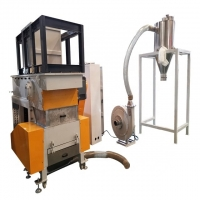 Buy cheap BEISU Factory BS-800 Single shaft shredder grinding machine with Fan blower product