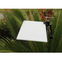 Buy cheap Opal White Hollow Polycarbonate Roofing Sheets For Skylight 4mm To 10mm product