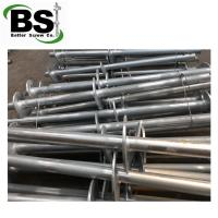 Buy cheap Steel pipe piling with multiple twisted helix plates welded from wholesalers