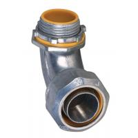 Buy cheap 1 Inch Liquid Tight Angle Connector , Electrical Conduit Elbow Fittings Polished product