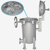 Buy cheap BOCIN Stainless / Carbon Steel Bag Filter Housing , Quick Open Multi-bag Filter INOCO BF Serial product