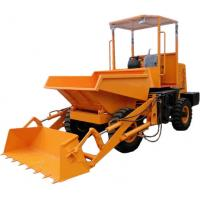 Buy cheap Hydraulic tipping hopper 3000kg self loading dumpers for sale product