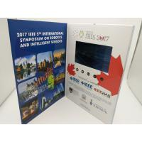 Buy cheap Rechargeable Real Estate Video Brochure,digital video brochure,lcd video brochure with touch screen product