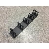 Buy cheap Network Horizontal Cable Manager 2U Rackmount Cable Management 5 Piece Rings product