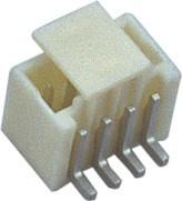 Buy cheap 1.5mm 1*4P 180°SMT Wafer Wire To Board Connector Sn Plated With CAP from wholesalers