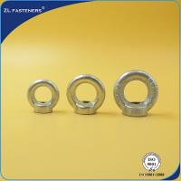 Buy cheap Precision Cast Threaded Eye Nut / M16 Eye Nuts Stainless Steel Zinc Plated product
