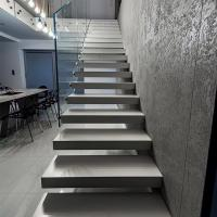 Buy cheap Modern Floating stair / Glass Staircase / Build Floating Staircase product