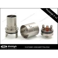 Buy quality X V2 Mechanical RDA Dripping Atomizer Air Flow Control , ego thread at wholesale prices