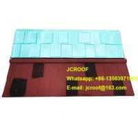 Buy cheap Industrial corrugated roofing sheets Heat insulation blue shingle / classic / bond product