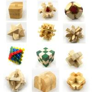 Intelligent Toy Wooden creative turning block