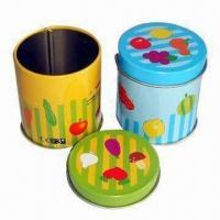 Buy cheap Promotion Gift Tins, Customized Colors, Logos and Sizes are Accepted product