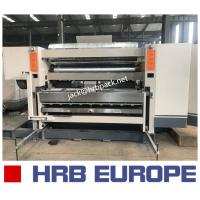 Buy cheap HRB WJ150-1800-I Type Three Layer Corrugated Paperboard Production Line product