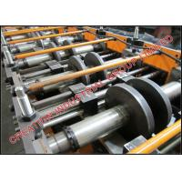 Buy cheap Galvanised Steel C Profiled Purline Roll Former Machine With Cr12 Mould Steel Rollers product