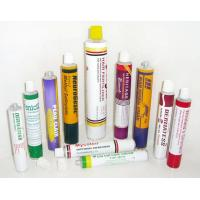 Buy cheap 1C - 6C Printing Collapsible Aluminum Tubes With 3g - 400g Capacity , Fully Label product