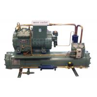 Quality 4DES-5Y Water Cooling Unit , Semi Enclosed Compressor Water Condensing Unit 5HP Long Lifespan for sale