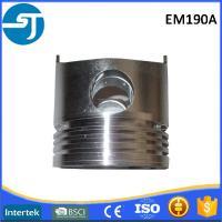 China Sichuan EM190 diesel engine aluminium alloy piston set manufacturers for sale