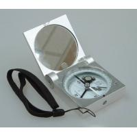 Buy cheap Silver Color Survey Instruments' Accessories Geology Metal Handheld Compass product