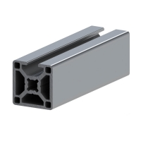 Buy cheap 3030 8mm T Slot Aluminum Extrusion M8 Or 5/16-18 Tap For Machine Frame product