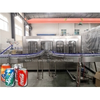 Buy cheap Stainless Steel 330ml Automatic Soda Carbonated Drink Filling Machine product