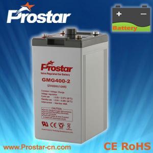 Buy cheap Prostar Gel Battery 2V 400AH product