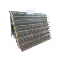 Buy cheap Half A Type Quail Farm Cage Wire Quail Laying Cages For Quail Farming from wholesalers