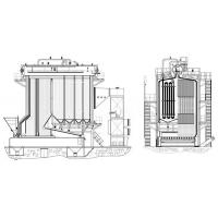 Optional Capacity of Chain Grate Coal Fired Industrial Steam Boiler (35-130T/H) Manufactures