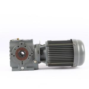Buy cheap Flange Mounted 62HRC Helical Worm Gear Motor 2 Stages product