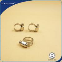 Buy cheap Zinc Plated 316 Stainless Steel Hose Clamps Quick Release Yellow / Bright Color product