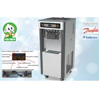 Buy quality Gravity Feed Low Noisy Soft Serve Ice Cream Machines , New Control System at wholesale prices