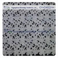 Buy cheap Thick Polyester Charming Allover Fabric Chemical Lace For Lady Garment product