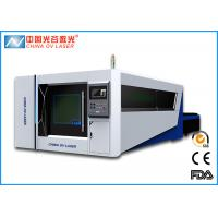 Buy cheap 300X1500 Fiber Laser Cutting Machine Full Enclosed Type  2000w with CE FDA product