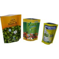 Buy cheap LDPE Retort Doypack Resealable Stand Up Food Packaging Bag With Zipper product