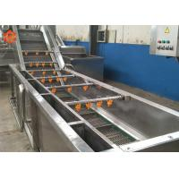 Buy cheap SUS304 Stainless Steel Commercial Vegetable Washer 380V / Customized Voltage product