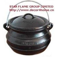 Buy quality Flat Potjie Pots at wholesale prices