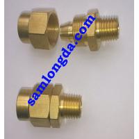 """Buy cheap 1/4"""" NPT Pneumatic Fitting for PU Tube, Female coupling, brass material product"""