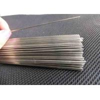 Buy cheap Shot Blasting Stainless Steel Straight Wire Bright Surface Smooth Round Edge product