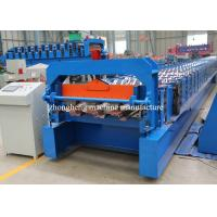 Buy cheap Steel Structure Floor Decking Forming Machine Automatic With Hydraulic Cutter from wholesalers