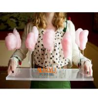 Buy cheap Thick Acrylic Countertop Food Display Transparent For Pretty Cotton Candy product