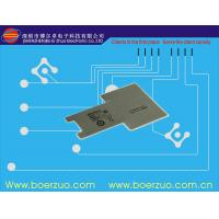Buy cheap Tactile LED Push Button Stock Membrane Switch Keypad With Glossy LCD Window product