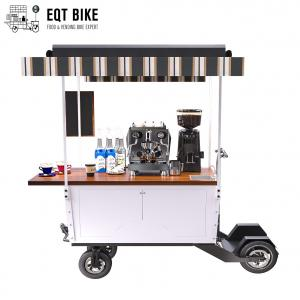 Buy cheap Four Wheel Electric Scooter Coffee Bike Cart IPX4 18KM/H product