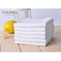 White Cotton Washcloths 100% Long Stapled Luxury Face Flannels