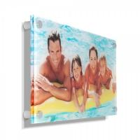 Buy cheap Concise clear acrylic photo frames /wall mounted plexiglass picture holder / decorative lucite block product