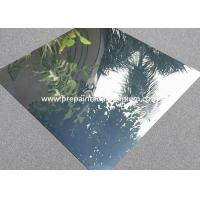 Quality Mirror Finish Reflective Aluminum Sheet , 1.50mm Thickness Aluminium Reflector Sheet for sale