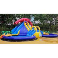 Buy cheap Summer Outdoor Inflatable Amusement Park Custom High Strength For Children product