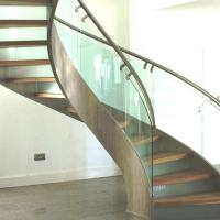 Buy cheap Modern Design Stainless Steel Curved Stair / Circular Staircases product