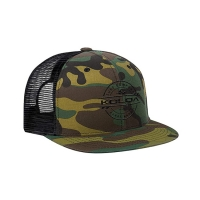 Buy cheap Camouflage Flat Brim Awesome Trucker Hats For Hip Hop Dance product
