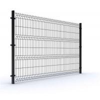 Buy cheap Powder Coated Wire Fence 1.83x2.5m 3D Triangle Bending Panel Fence With Longlife product